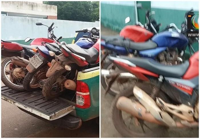 Polícia recupera 5 motos roubadas em cidade do PI