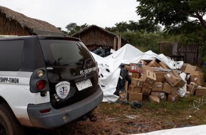 Polícia recupera carga roubada em sítio na zona rural...