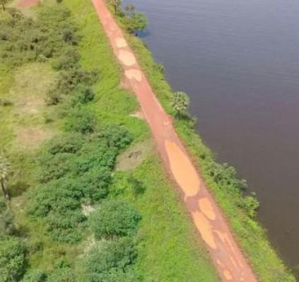 Prefeito pediu ao governo manutenção de barragem...