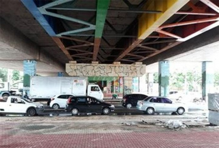 Transito sob a ponte JK será interditado parcialmente neste fim de semana