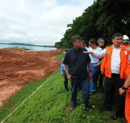 Wellington Dias acompanha trabalhos na Barragem do...