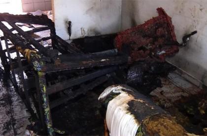 Bebê de um ano morre carbonizado durante incêndio em...