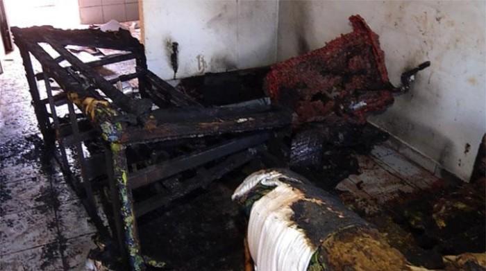 Bebê de um ano morre carbonizado durante incêndio em Timon