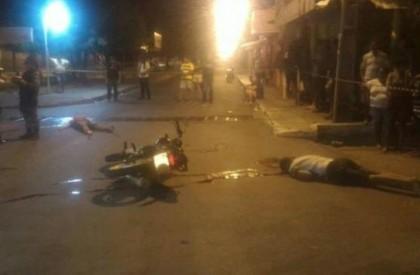 Jovens são executados a tiros ao sair de festa na zona sul
