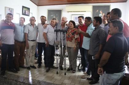 Lideranças declaram apoio às pré-candidaturas de Socorro e Edilázio