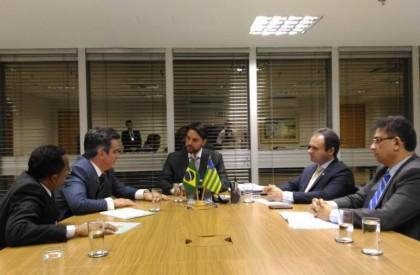 Ministro autoriza cadastramento de obra do Cais de Floriano