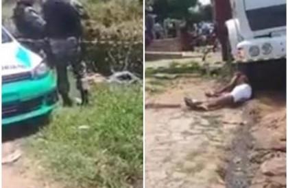 Pai e filho são mortos durante troca de tiros...
