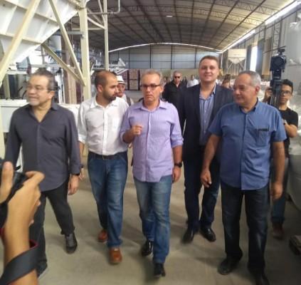 Pólo Empresarial Sul receberá asfaltamento e iluminação
