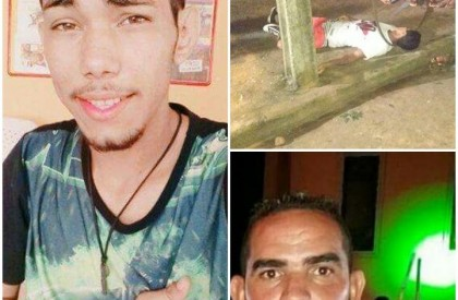 Três homem são mortos na mesma noite em Barras
