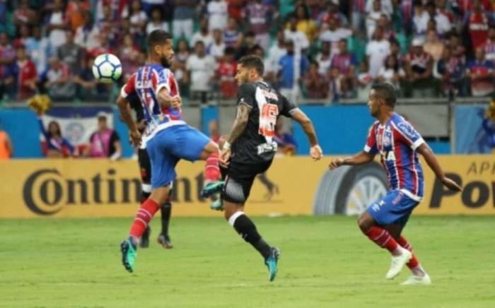 Vasco falha e é goleado por 3 a 0 pelo Bahia em Salvador