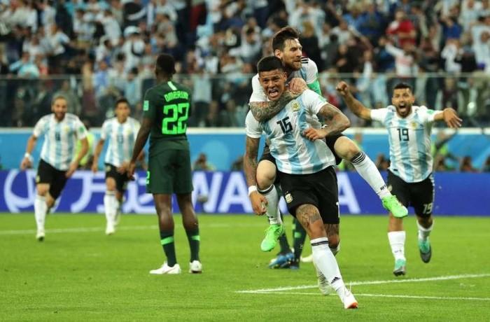Argentina se classifica com jogo sofrido contra a Nigéria