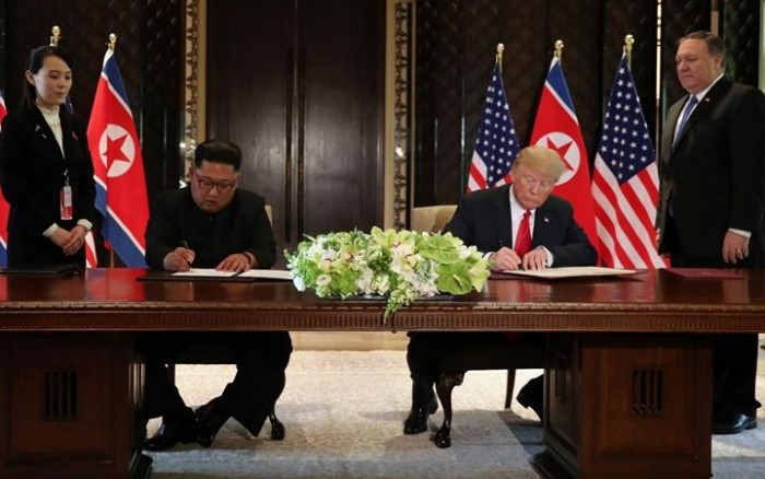 Em acordo histórico, Kim Jong-un promete fim de armas nucleares