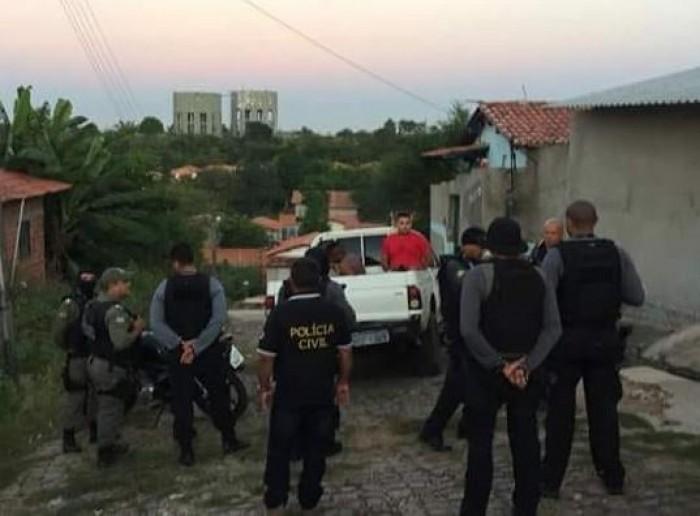 Operação prende dupla de arrombadores na zona norte
