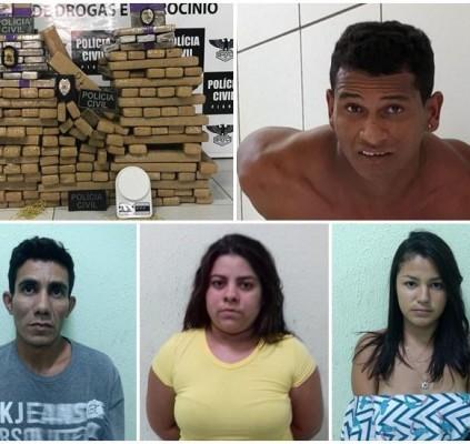Polícia apreende 200Kg de drogas em operação...