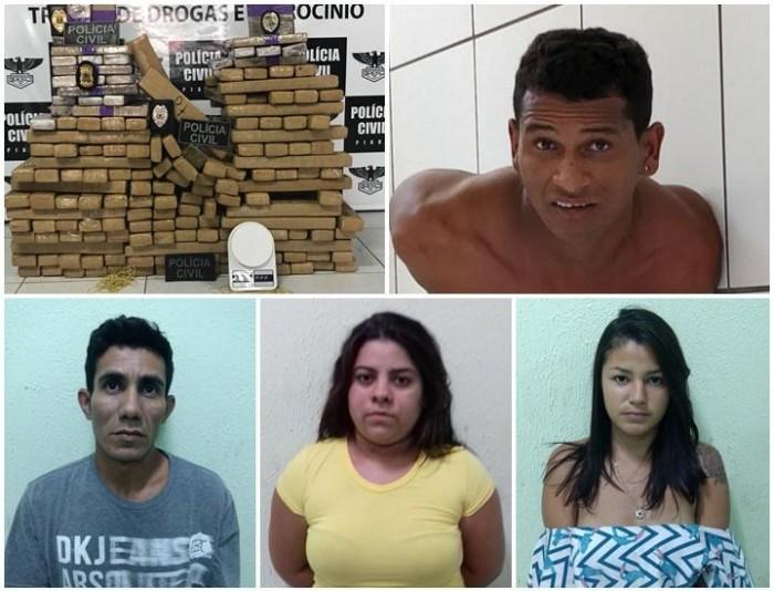 Polícia apreende 200Kg de drogas em operação no litoral
