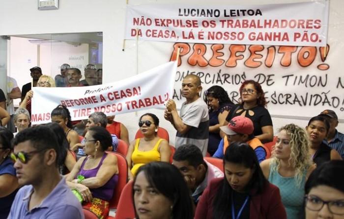 Prefeitura não acomoda feirantes da Ceasa de Timon e exige saída em 48h