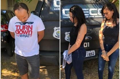 Suspeitos de fraudar concurso no Tocantins são presos em THE