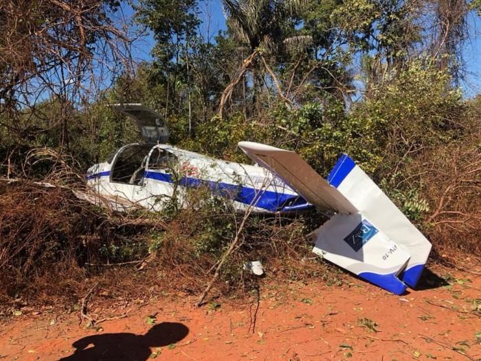 Avião com Wilson e Rodrigo Martins faz pouso forçado em Timon