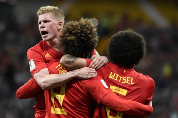 Bélgica vence Japão com virada história e pega o Brasil nas quartas