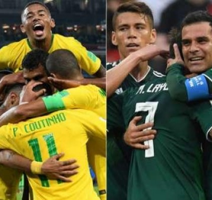 Brasil enfrenta o México por uma vaga...