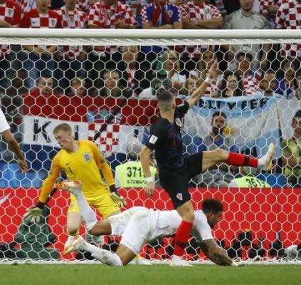 Croácia vence Inglaterra na prorrogação e está...