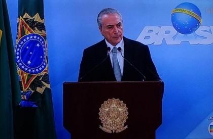 Presidente Michel Temer visita Parnaíba nesta sexta (03)
