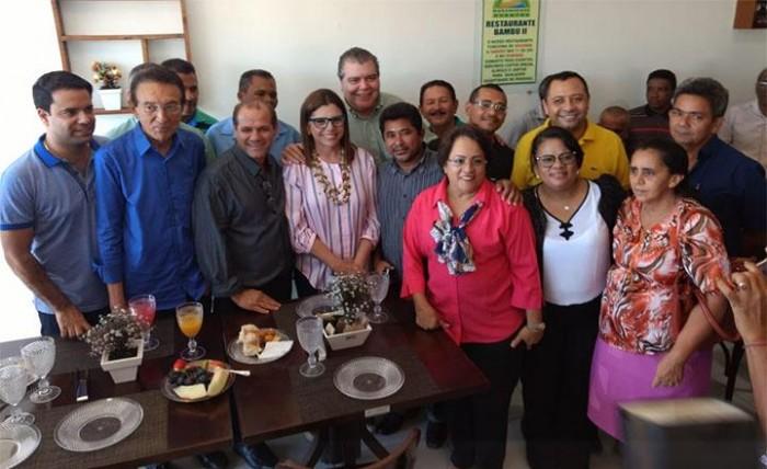 Visita de Roseana a Timon tem adesão de vereadores do grupo Leitoa