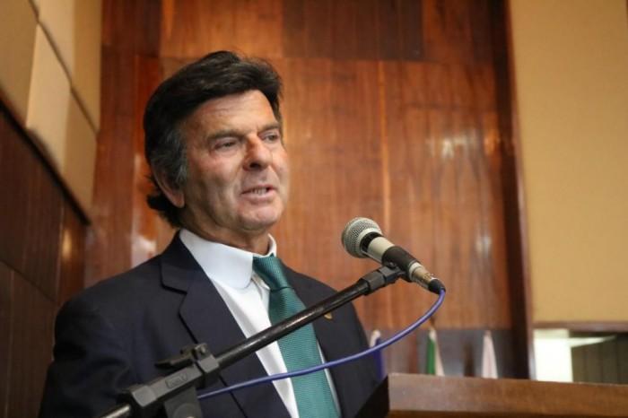 Em Teresina, Ministro Luiz Fux fala sobre análise econômica do direito