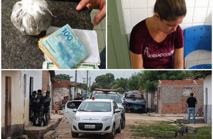 Operação contra tráfico já prendeu 18 suspeitos em THE e Timon