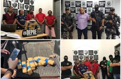 Operação prende 15 pessoas por tráfico de drogas em THE e Timon