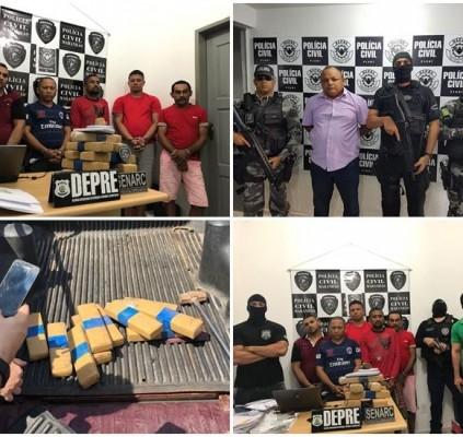 Operação prende 15 pessoas por tráfico de...