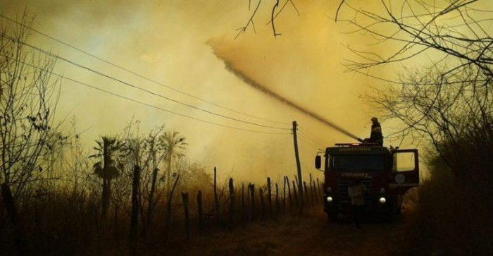 Queimadas preocupam Bombeiros na região de Picos