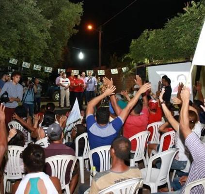 Socorro Waquim realiza primeira grande reunião em...
