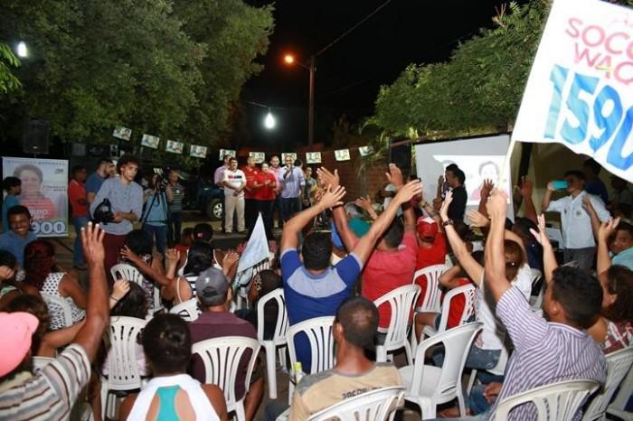 Socorro Waquim realiza primeira grande reunião em Timon