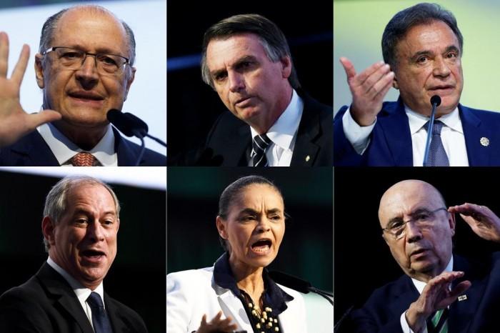 Ibope: Bolsonaro, 22%; Marina, 12%; Ciro, 12%; Alckmin, 9%; Haddad, 6%