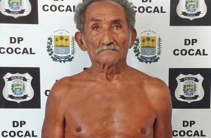 Idoso é preso por estupro a bisnetas de 8 e 10 anos