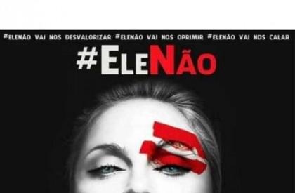 Madonna entra na campanha #Elenão e pede