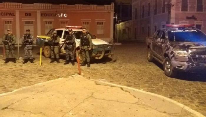Polícia aborta tentativa de roubo a banco em Barras