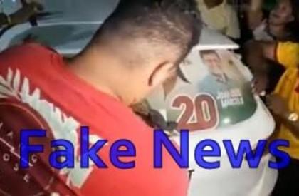 Bacabal: Adesivaço 'fake news' expõe o desespero de César...
