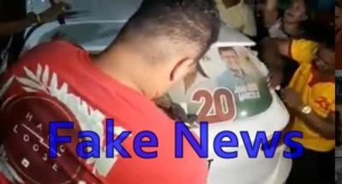 Bacabal: Adesivaço 'fake news' expõe o desespero de César Brito