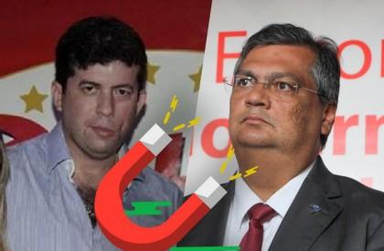 "César Brito tenta se agarrar a Flávio Dino para dar ""fôlego"" na campanha"