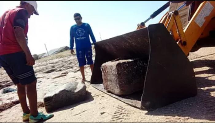 Chega a mais de 30 número de pacotes misteriosos no litoral do Piauí