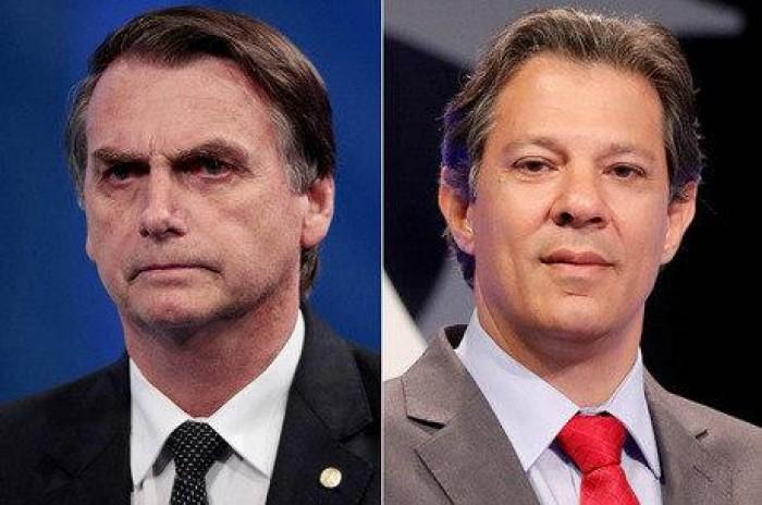 Datafolha: Bolsonaro tem 56%; Haddad, 44% dos votos válidos