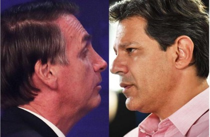 Haddad ultrapassa Bolsonaro na cidade de São Paulo, diz...
