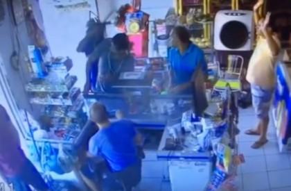 Idosa é baleada após assalto em comércio em Floriano