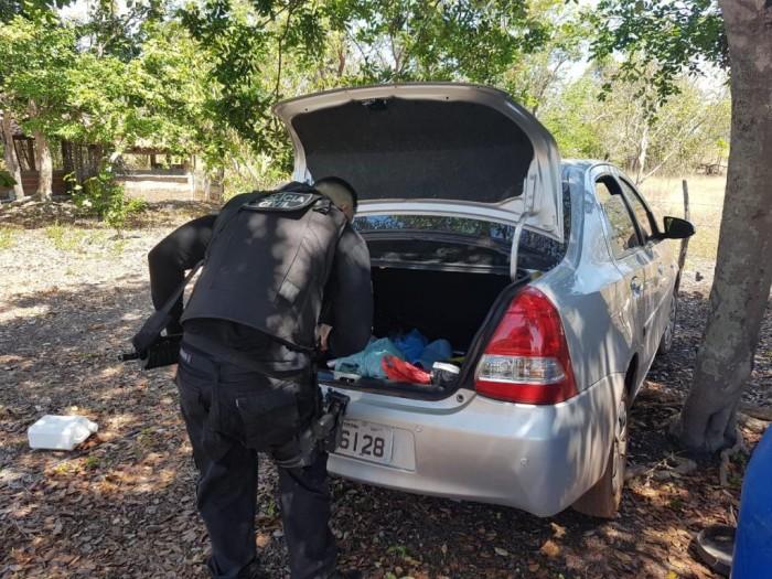 Polícia descobre sítio usado para esconder carros roubados