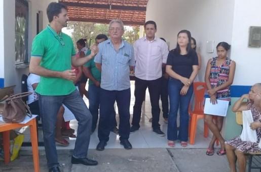 Prefeitura de Barras inaugura novo posto de saúde em assentamento