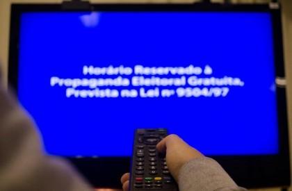 Propaganda eleitoral no rádio e tv termina hoje