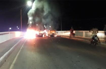 Noite de terror em Bacabal: três bandidos foram mortos...