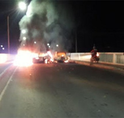 Noite de terror em Bacabal: três bandidos...